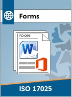 ISO 17025 Forms