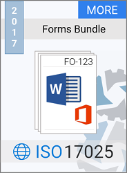 ISO 17025:2017 Forms Bundle