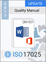 ISO 17025:2017 Quality Manual Template